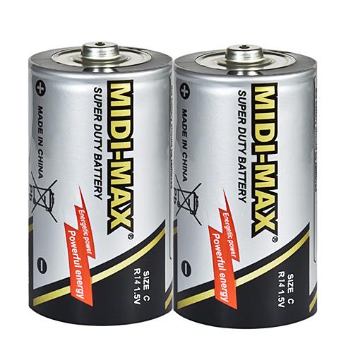 2号碳性电池